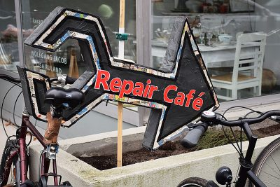 Repair Cafe, Foto: Barthel Pester
