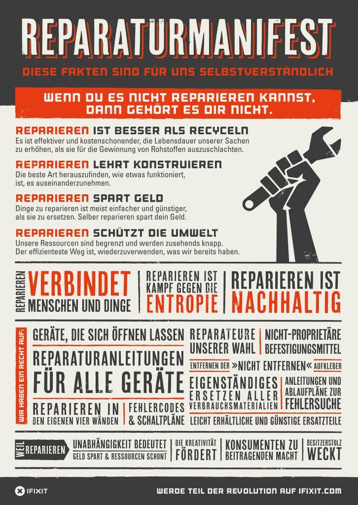 Bild: ifixit Manifesto, https://eustore.ifixit.com/Das-iFixit-Manifest/