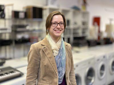 ReUse-Projektentwicklerin Imke Eichelberg